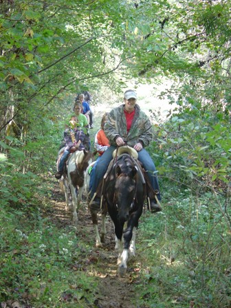 Trail Rides at Arkabutla Lake